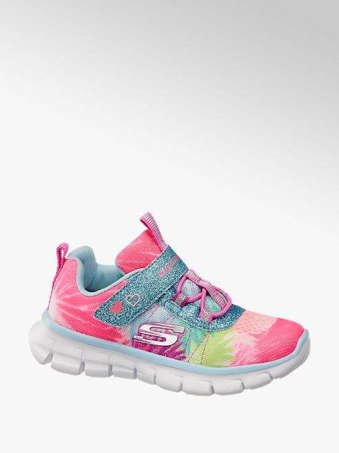 Skechers kolorowe sneakersy dziewczęce Skechers