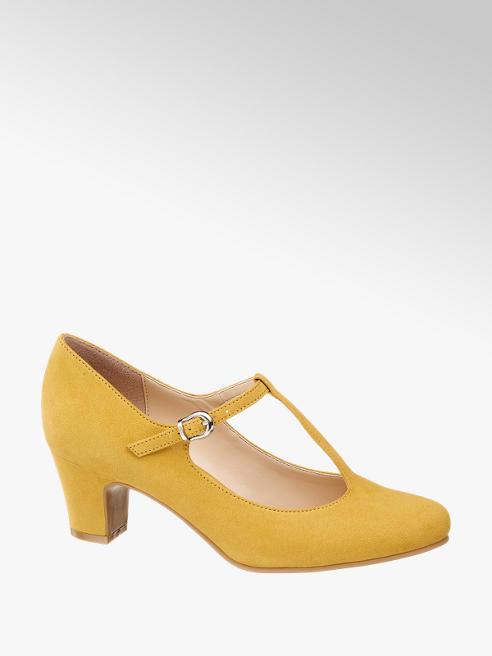 Graceland Žlté lodičky s remienkom Graceland