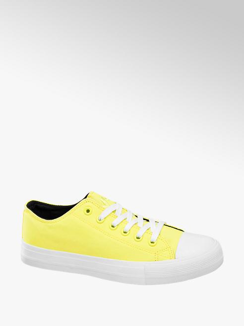 Vty Žluté plátěné tenisky Vty