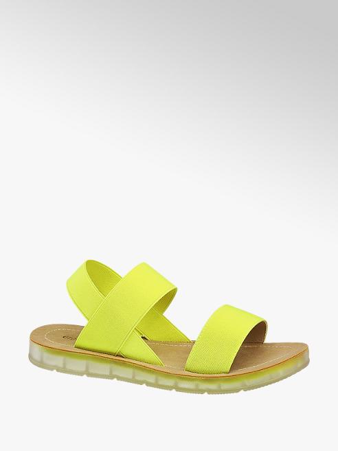 Graceland Žluté sandály Graceland