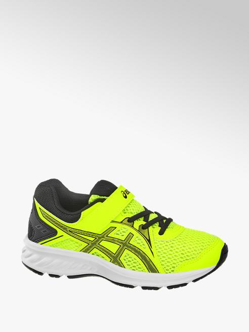Asics neonowo-żółte sneakersy dziecięce Asics Jolt