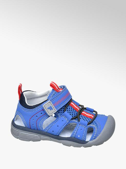 Fila niebieskie sandały chłopięce Fila z zabudowanym przodem