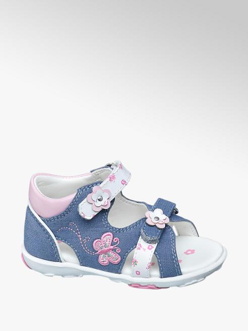 Cupcake Couture niebieskie sandały dziewczęce Cupcake Couture zapinane na rzepy