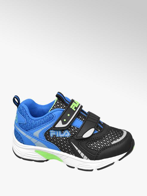 Fila niebiesko-czarne sneakersy chłopięce Fila zapinane na rzepy