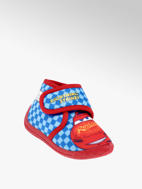 Cars niebiesko-czerwone kapcie chłopięce Cars