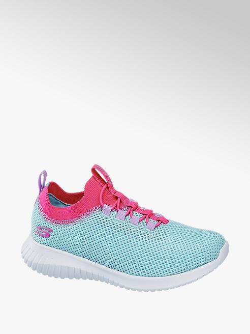 Skechers niebiesko-różowe sneakersy dziewczęce Skechers