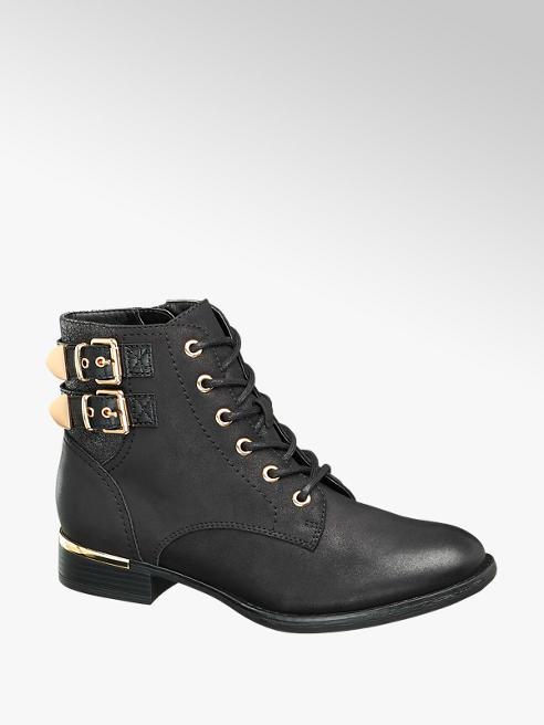 Graceland Šněrovací obuv s přezkami