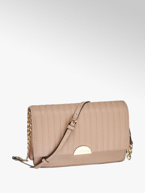 Graceland różowa pikowana torebka damska Graceland