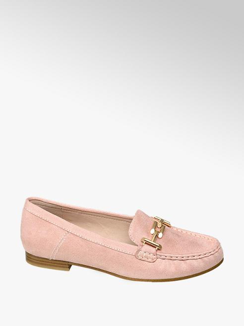 Graceland różowe mokasyny damskie Graceland