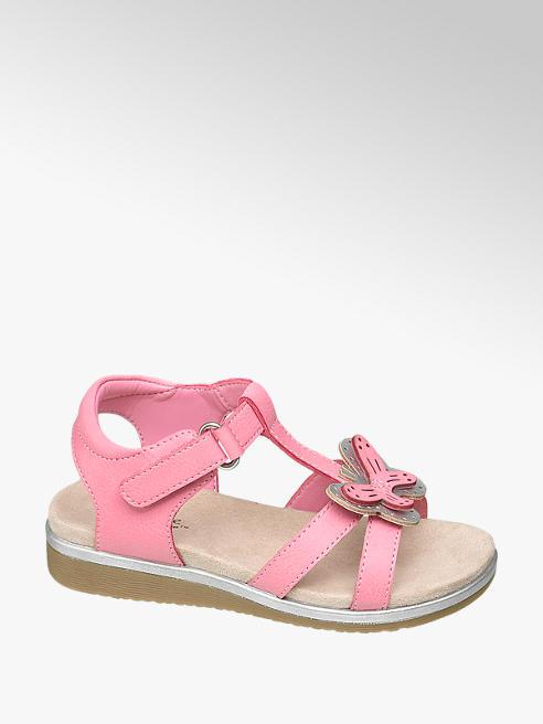 Cupcake Couture różowe sandałki dziewczęce Cupcake Coutre z motylkiem