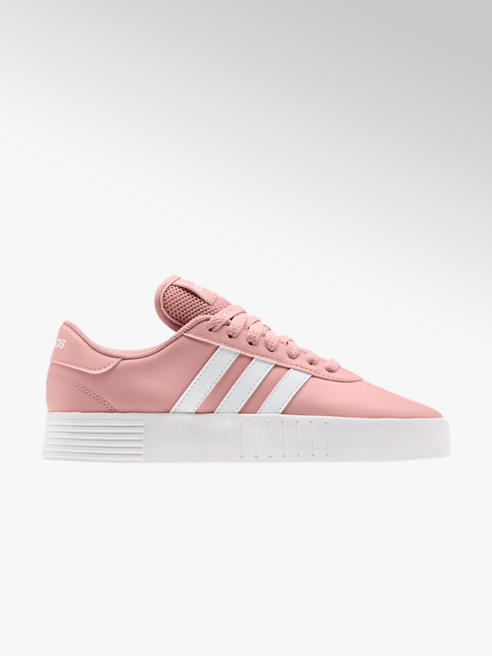 adidas różowe sneakersy damskie adidas Q2