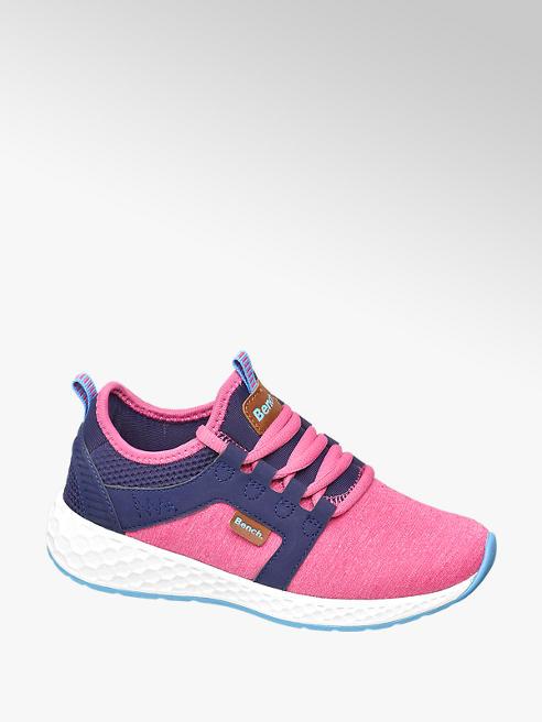 Bench różowo-granatowe sneakersy dziewczęce Bench