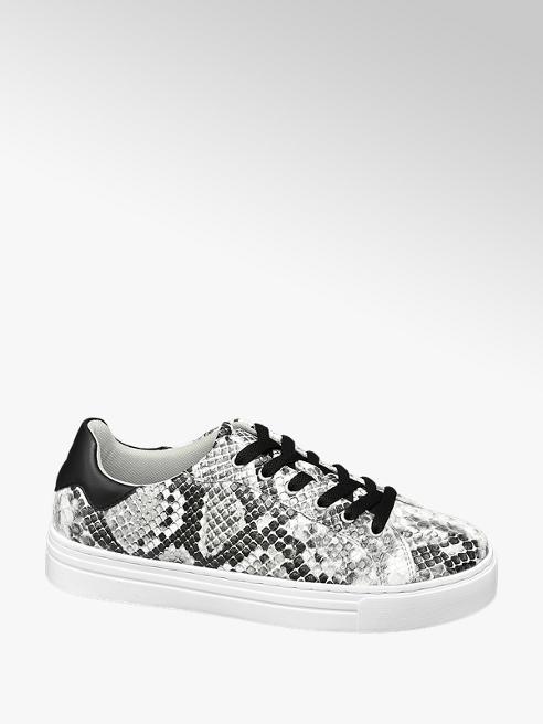 Graceland sneakersy damskie Graceland w wężowy wzór