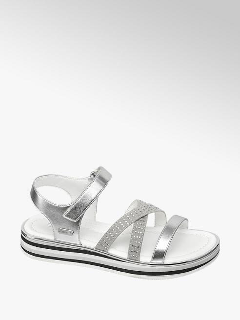 Esprit srebrne sandały dziewczęce Esprit