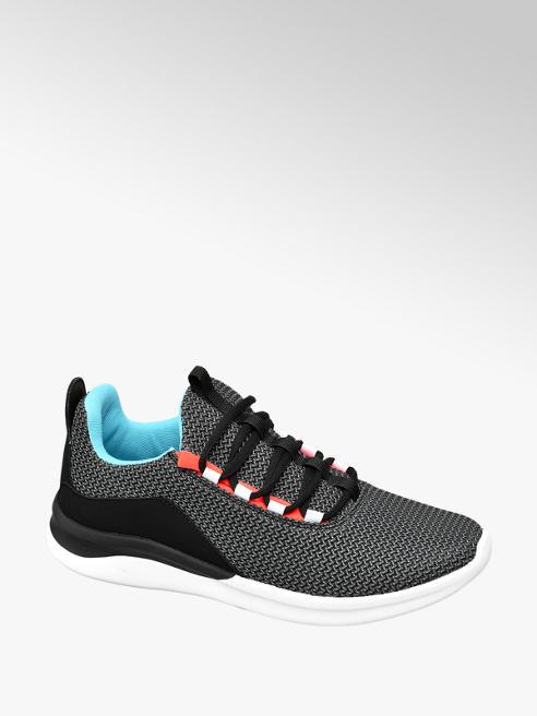 Vty szaro-czarno-niebieskie sneakersy dziecięce Vty