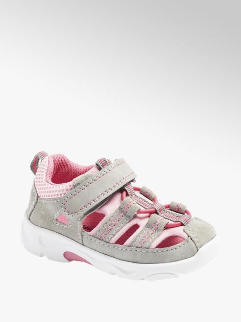 Cupcake Couture szaro-różowe sandały dziewczęce Cupcake Couture