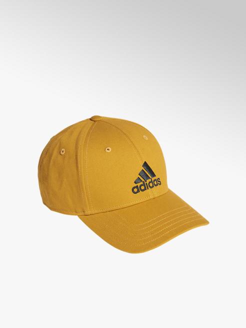 adidas żółta czapka z daszkiem adidas