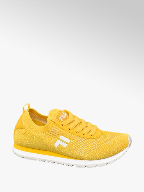 Fila żółte sneakersy damskie Fila