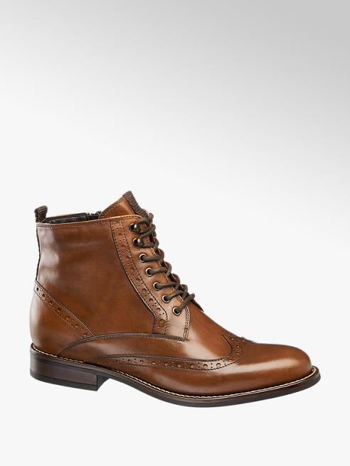 5th Avenue Cognac leren brogue boot