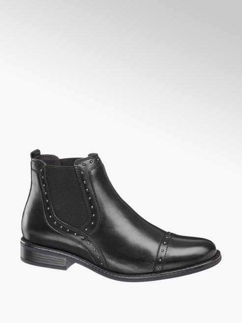 5th Avenue Leather Chelsea Boots