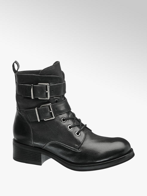 5th Avenue Leather Lace Up Boot