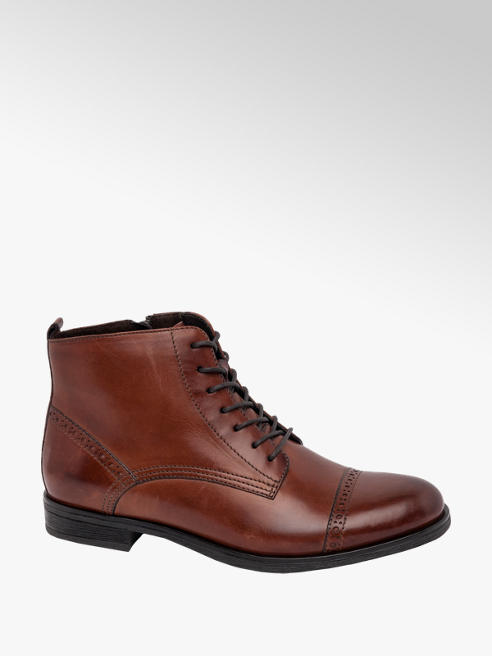 5th Avenue Brown Lace Up Brogue
