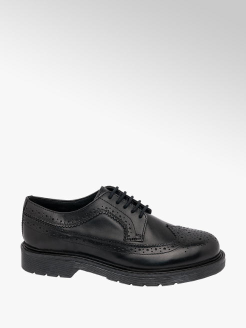 5th Avenue Ladies Leather Chunky Brogues