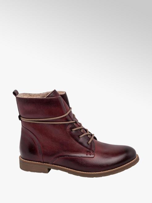 5th Avenue Bordo Lace Up Boot