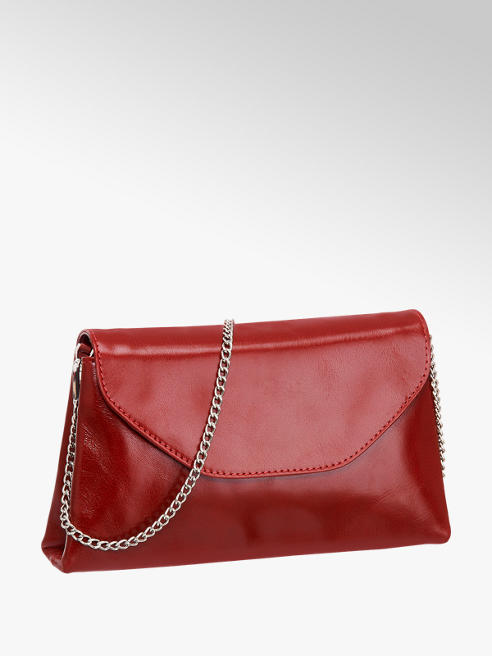 5th Avenue Red Leather Cross Body Bag