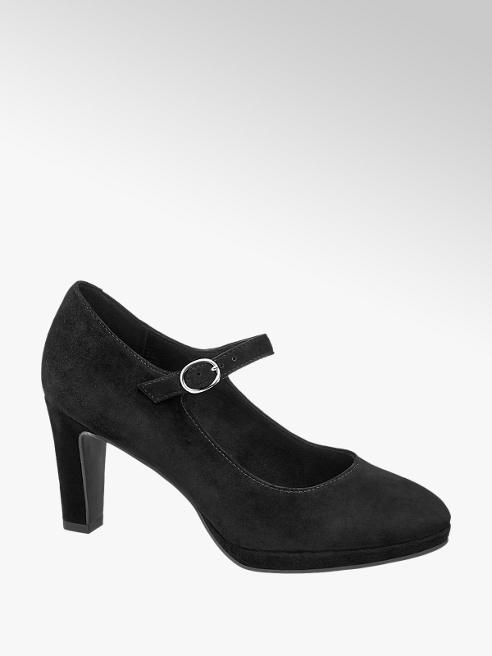 5th Avenue Leder Spangen Pumps