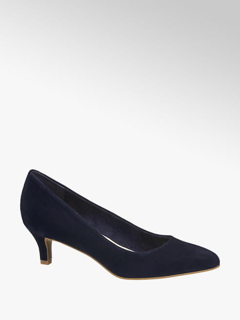 5th Avenue Navy Blue Leather Courts