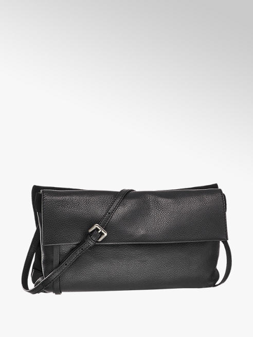 5th Avenue Zwarte leren clutch