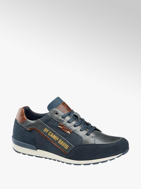 venture by Camp David Leder Sneaker in Blau