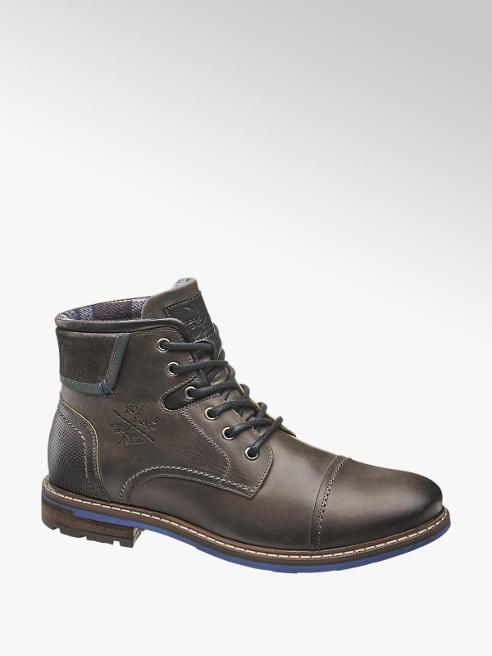 AM SHOE zimowe buty męskie AM SHOE w kolorze ciemnoszarym