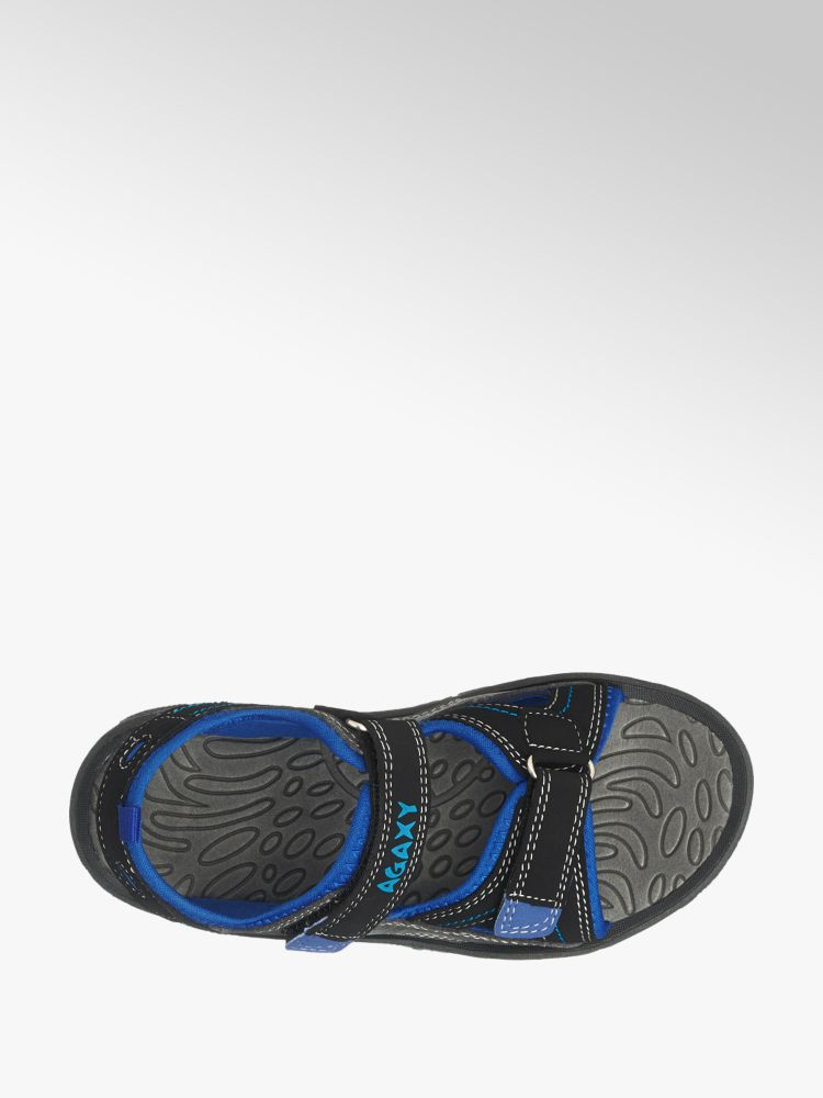 Sandalo blu blu AGAXY Colore Sandalo Colore AGAXY nero nero p1a4wv7qR