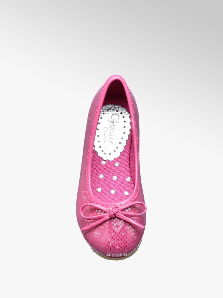 Cupcake Couture Colore Ballerina argento fucsia w40Fw