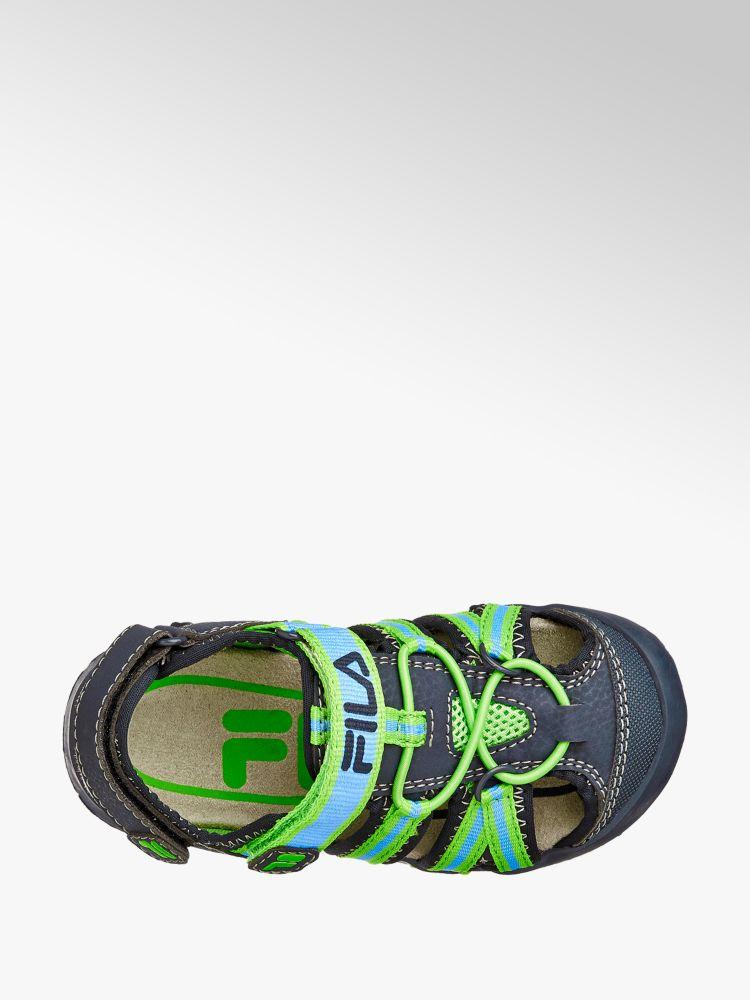 Fila blu Colore Sandalo Fila Colore verde blu Sandalo t4wqvwx5