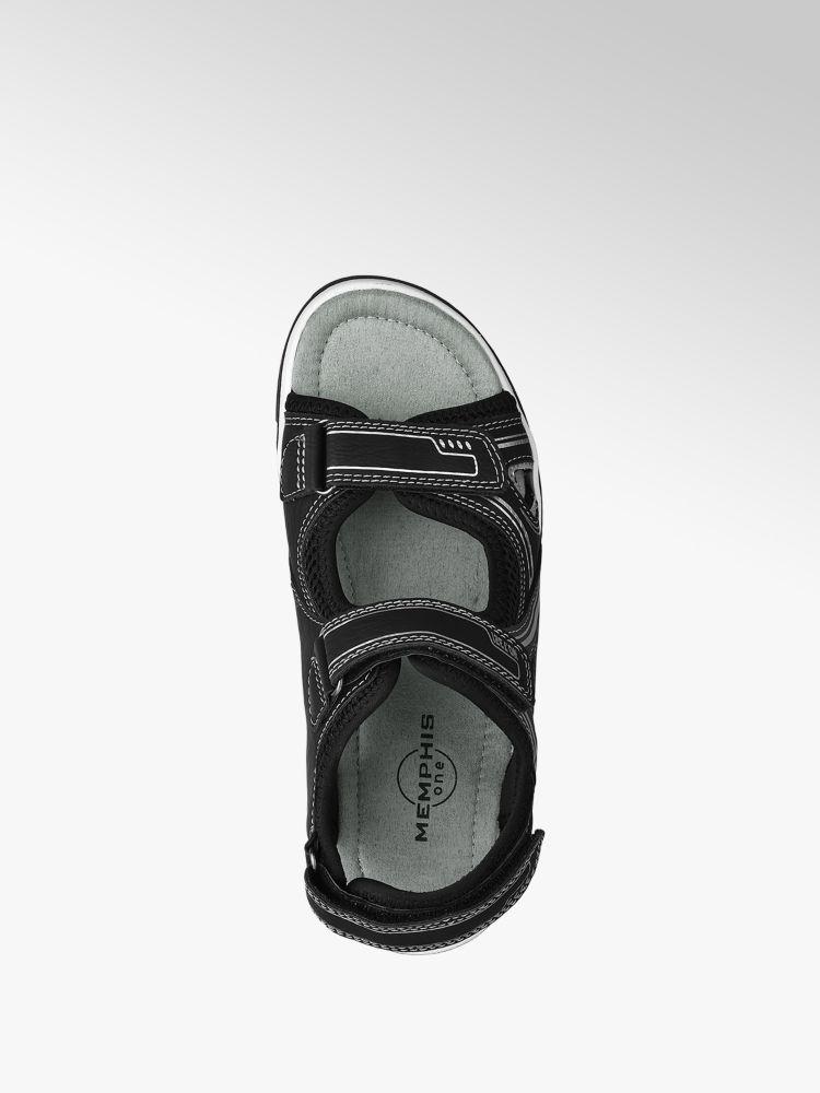 Memphis Sandalo nero grigio Colore argento One xPwYrPq40