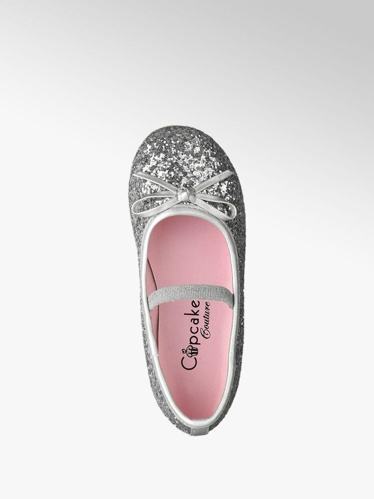 Ballerina argento Cupcake Couture Cupcake Colore argento Colore Couture Ballerina n8OYFg