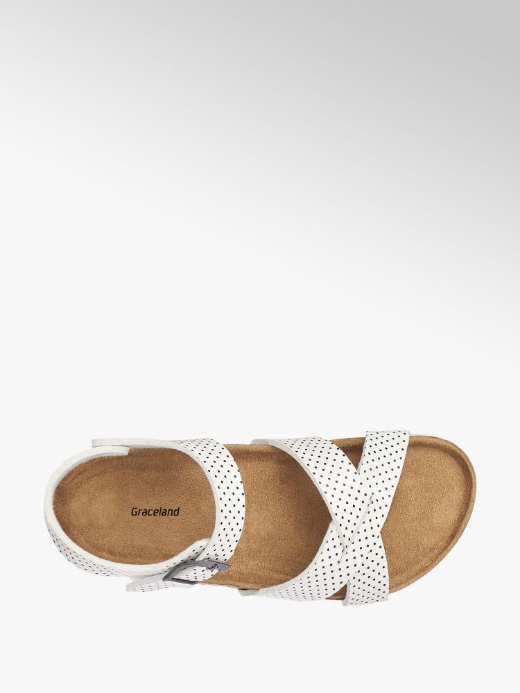 Graceland Sandalo bianco Graceland Graceland Sandalo Colore Colore bianco Sandalo Colore PxwqgwXpI