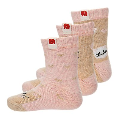 elefanten 3er Pack Socken BIO-Baumwolle