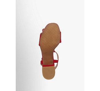 Graceland Damen Sandalette rot Neu   eBay 7ea3fd3708