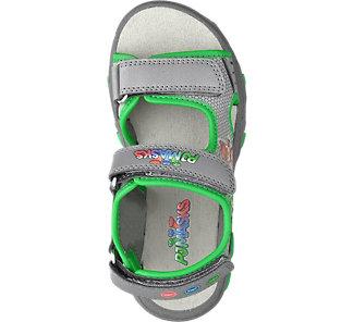 PJ Masks Jungen Sandale grau Neu Blinkende Schuhe Kindermode