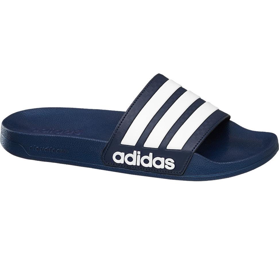 Adidas Herren Adilette Cloudfoam Splash blau Neu | eBay