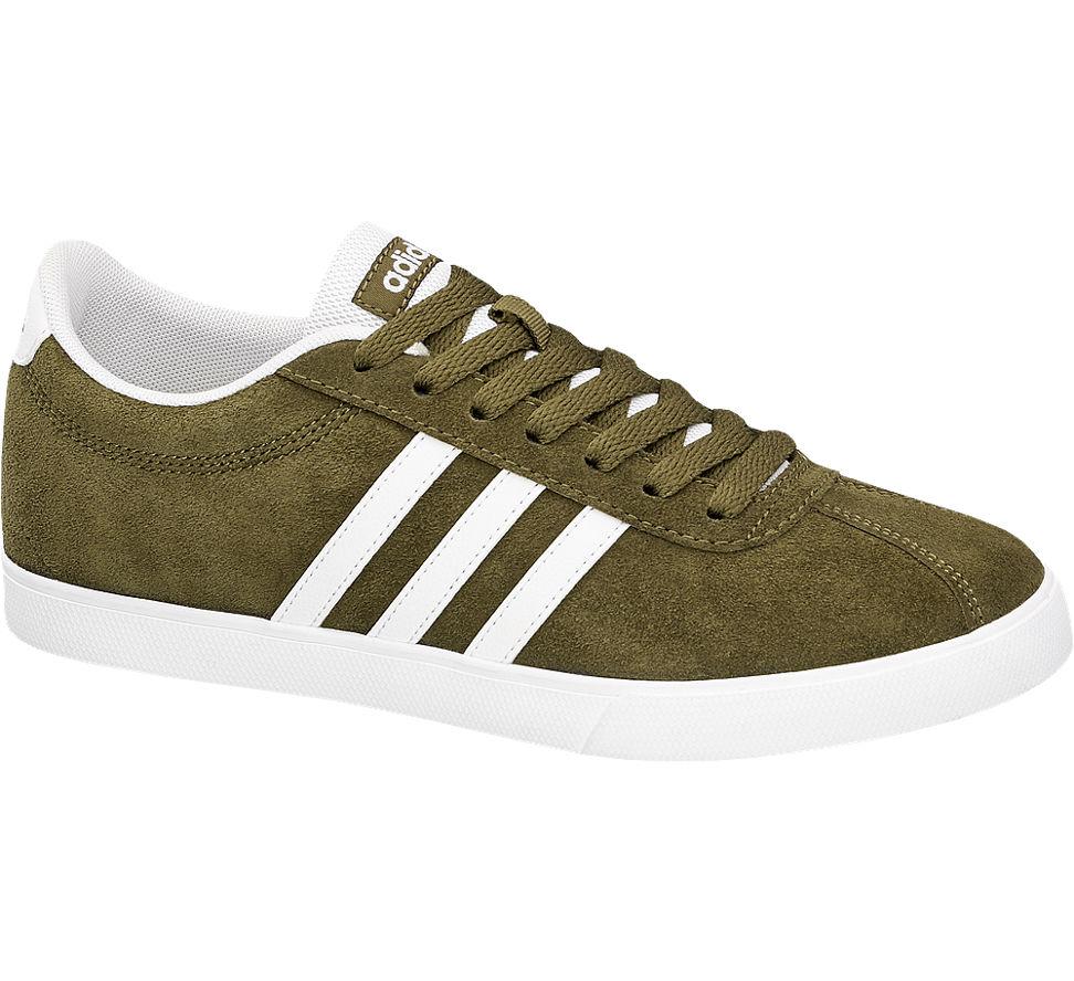 Deichmann Schuhe adidas Damen Sneaker COURTSET W olive Neu