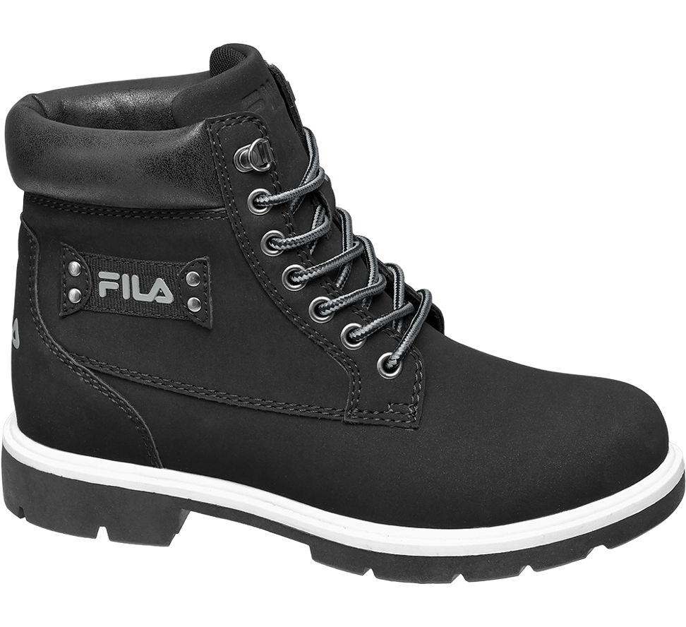 deichmann schuhe fila damen schn rboots schwarz camel. Black Bedroom Furniture Sets. Home Design Ideas