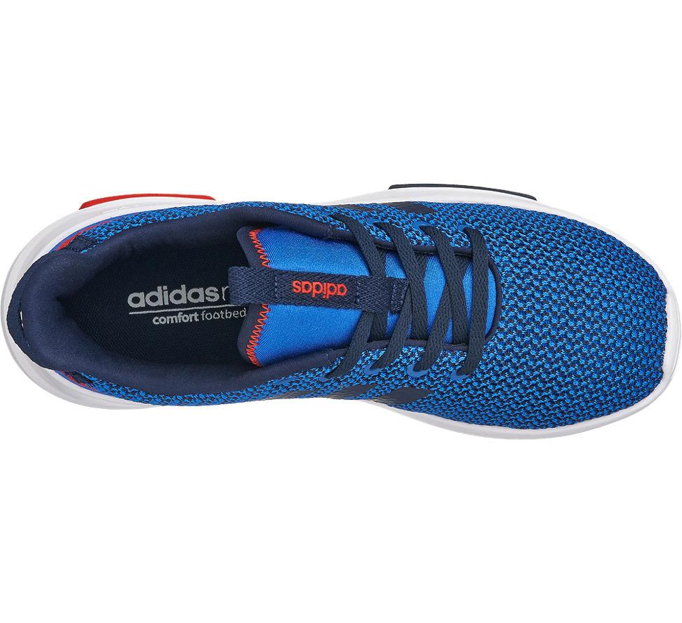 Tr Neo Adidas K Sneaker Jungen Label Cloudfoam Blau Racer