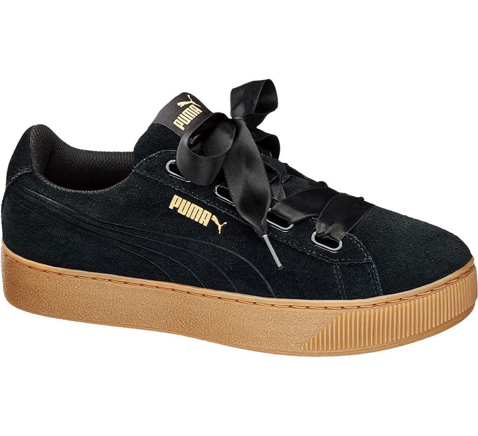 0dbdf322815680 Puma Platform Schuhe Ribbon Damen Deichmann Vikky Qriwp7 Schwarz Sneaker  NwnmOv08