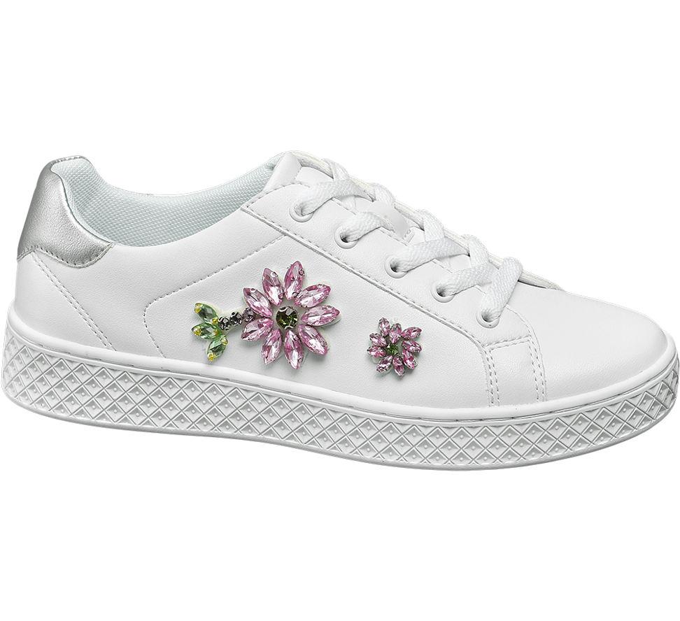 Details zu Graceland Damen Sneaker weiß Neu