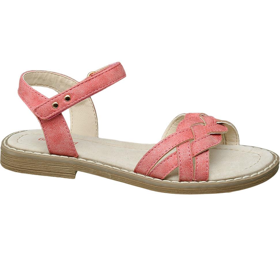 Graceland Mädchen Sandale rot Neu   eBay c1ba738690